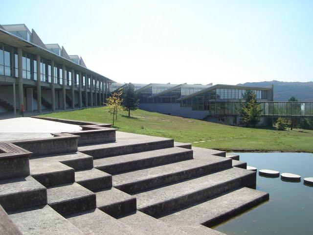 Vista del campus de la Universidad.