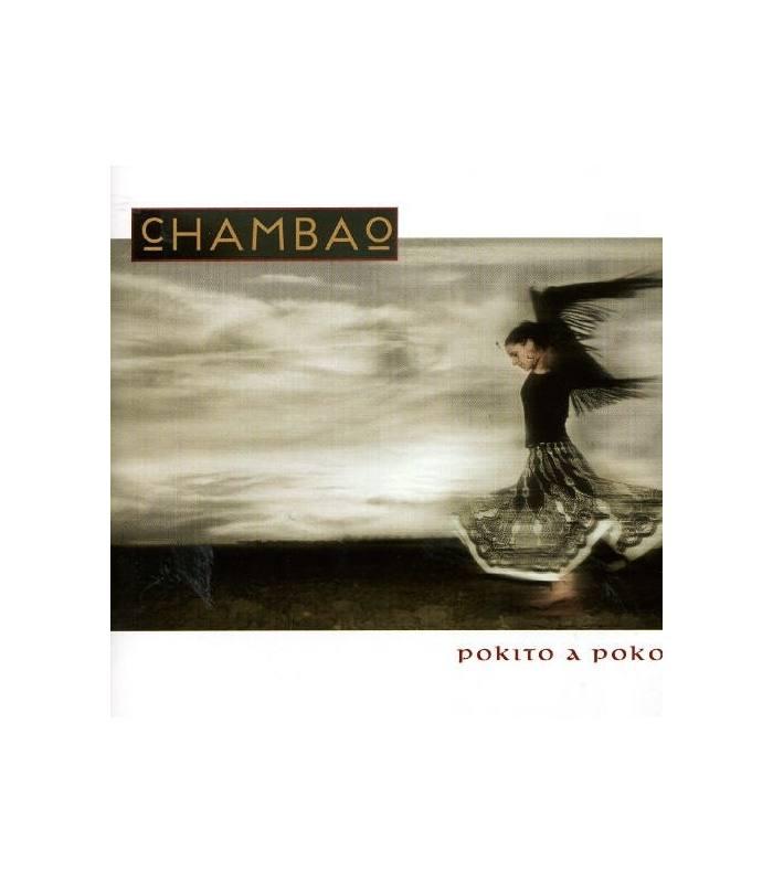 "Portada del álbum ""Pokito a poko"" de Chambao"