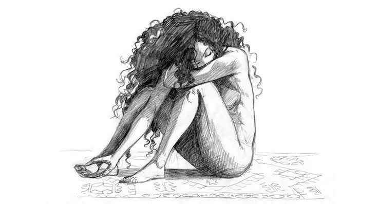 Boceto de Ana Miralles
