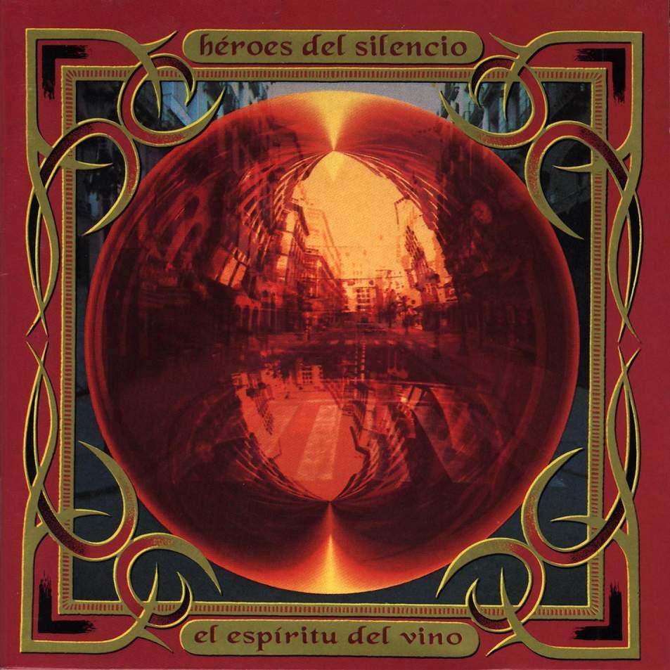 """Portada del disco """"El espíritu del vino"""" de Héroes del silencio"""