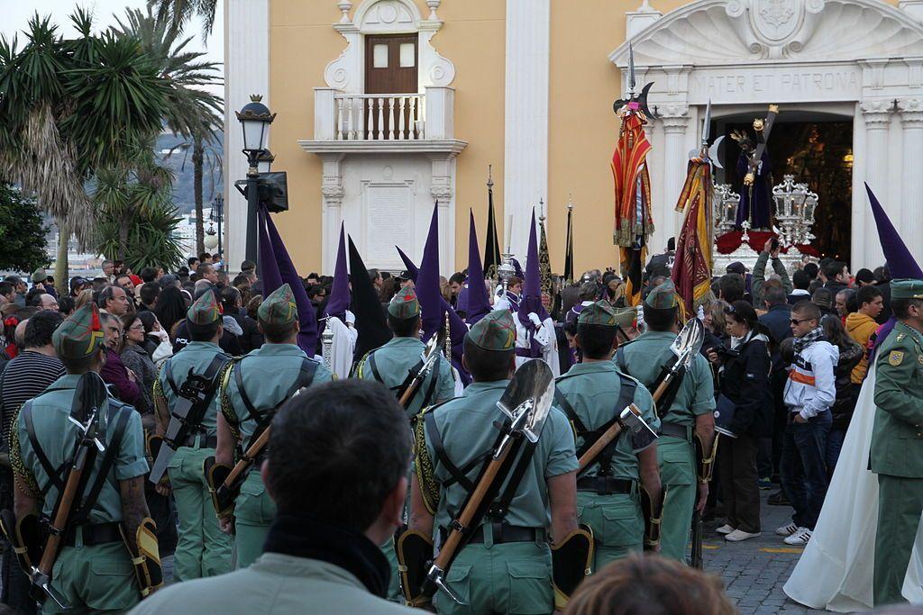 Miembros del Tercio Duque de Alba