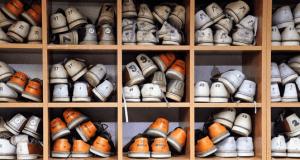 zapatos en cajas