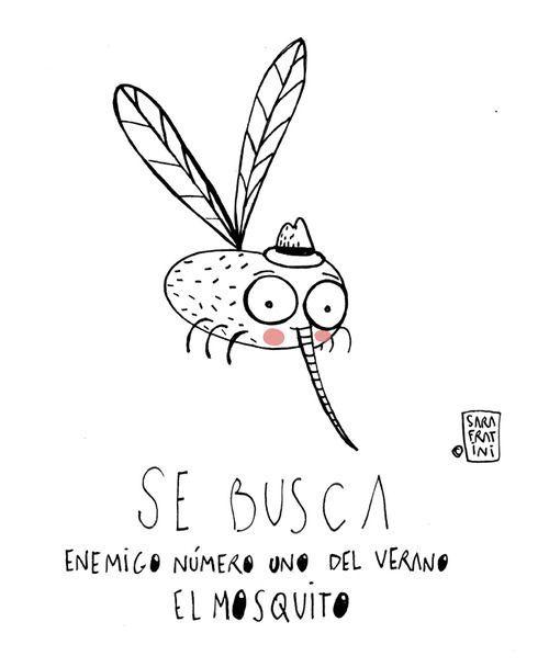 El mosquito, enemigo del verano.