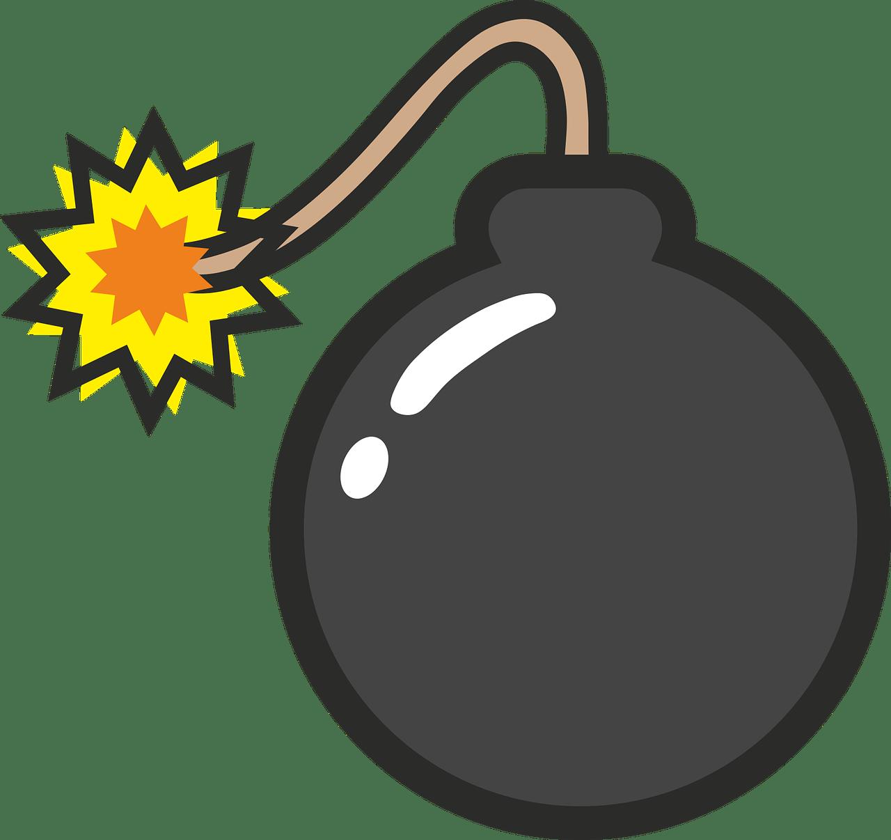 Icono que representa una bomba