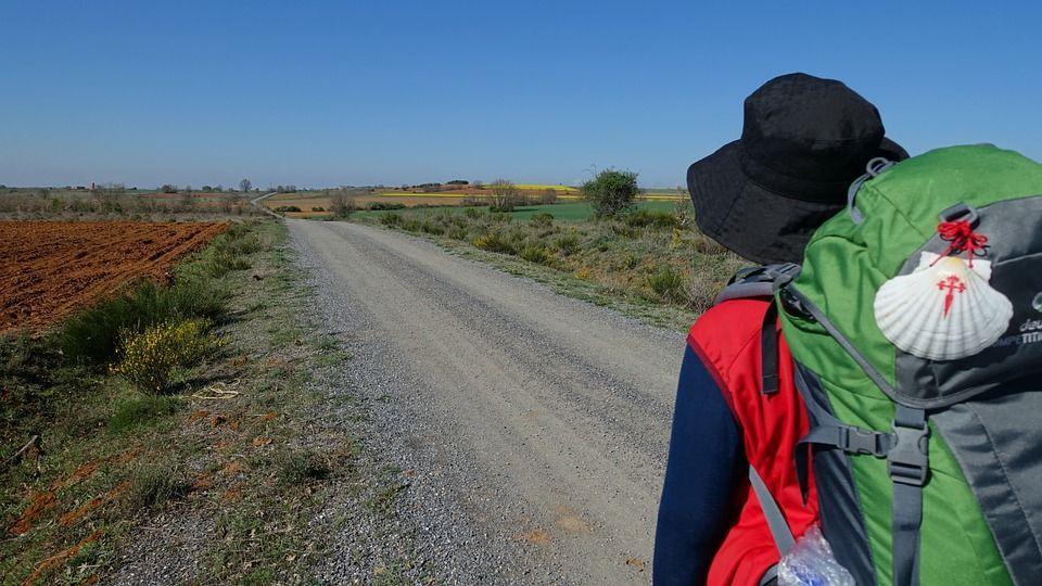Haciendo el camino de Santiago.