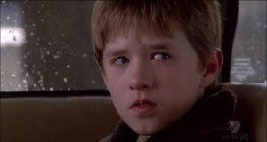 """Fotograma de la película """"El sexto sentido""""."""