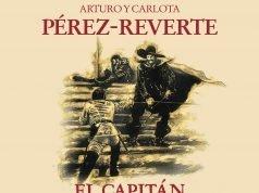 Fragmento de la portada del libro El capitán Alatriste.