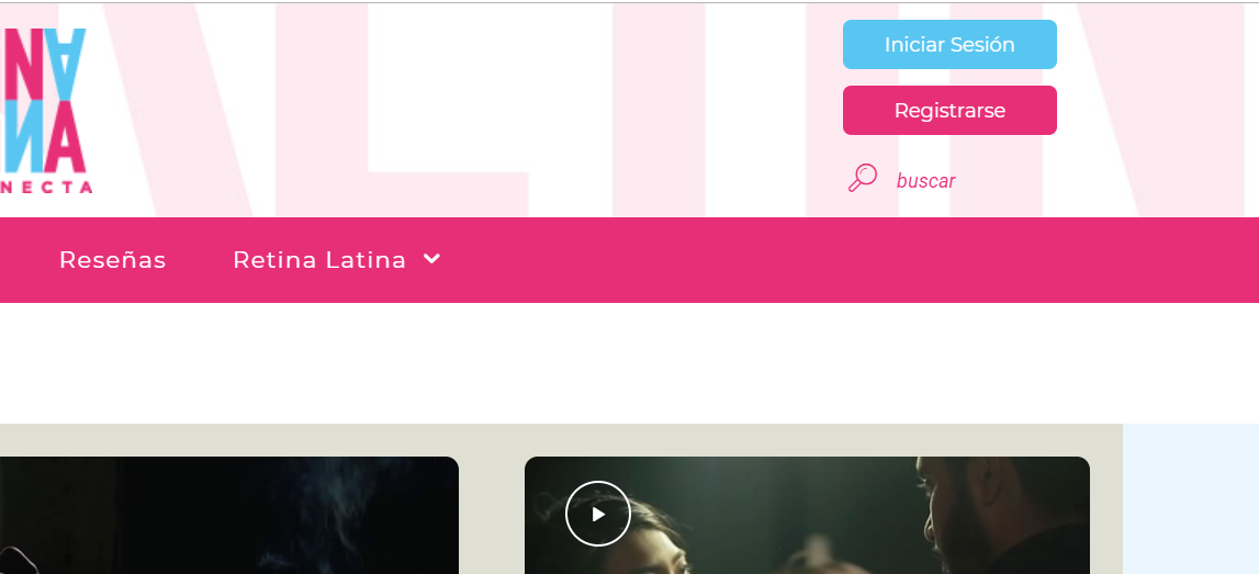 Registrarse en Retina Latina - Primer paso