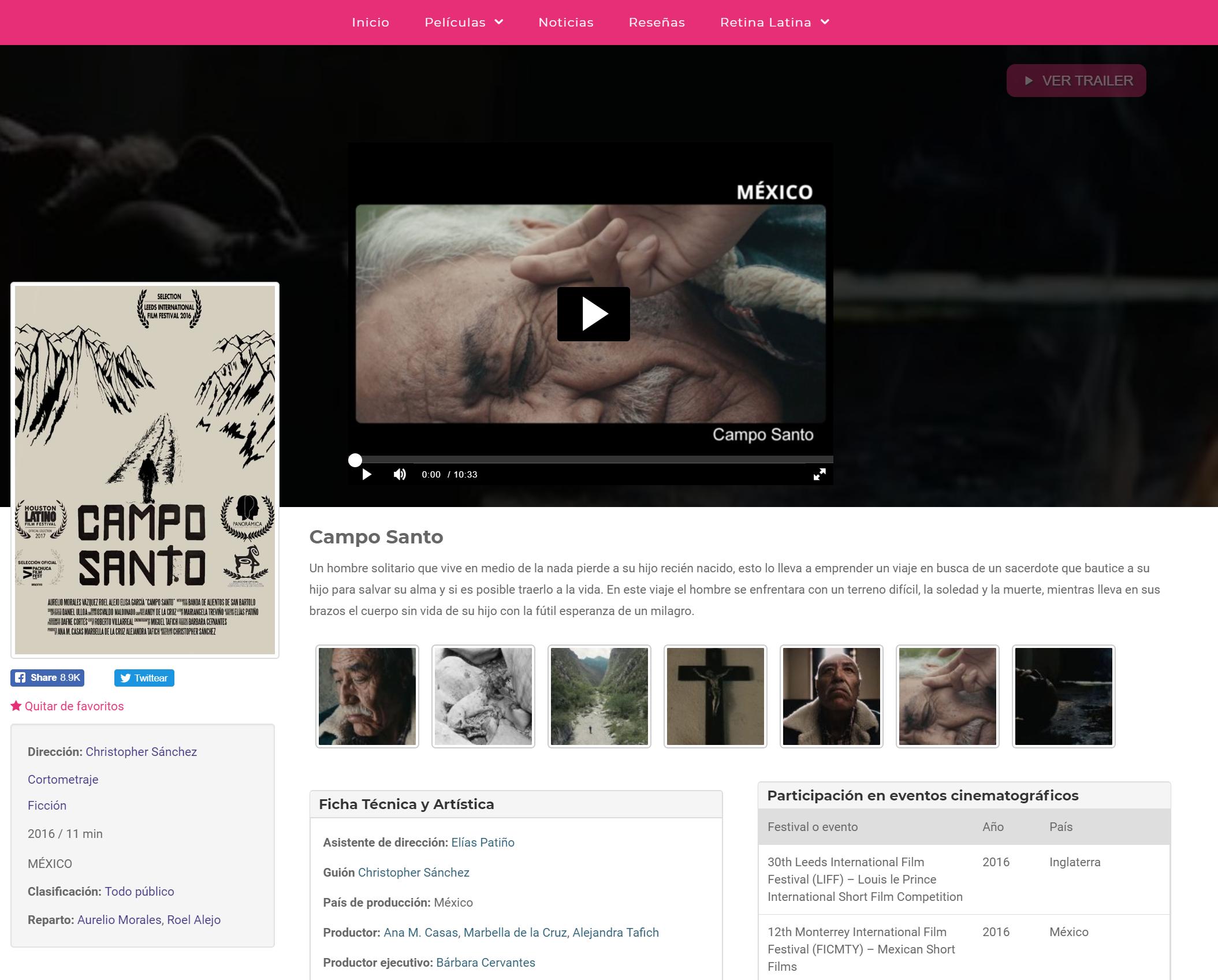 Viendo contenido en Retina Latina