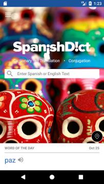 SpanishDict - Herramienta de traducción español - inglés